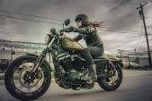 Cùng độ Sportster Iron 883 bản 2016 với Harley-Davidson