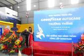 Goodyear tung khuyến mãi mua 3 tặng 1 nhân dịp khai trương Autocare mới tại Bắc Ninh