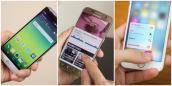 Bạn thích giao diện smartphone nào nhất LG G5, Galaxy S7 hay iPhone 6s?
