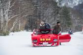 Cận cảnh siêu xe Ferrari F40 bánh xích của dân chơi Nhật