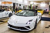 """""""Siêu bò"""" Lamborghini Gallardo mui trần độc nhất VN"""