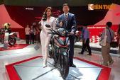 Đa dạng sắc màu Honda tại triển lãm xe máy Việt Nam 2016