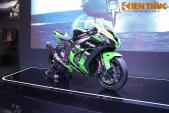 Superbike mạnh nhất Kawasaki ZX-10R giá 549 triệu tại VN
