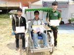 Sinh viên Đà Nẵng chế xích lô chạy năng lượng mặt trời