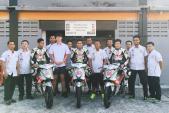 """Người Việt đầu tiên """"nài"""" môtô Honda tại giải đua Châu Á"""