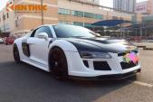 Chi tiền tỷ độ Audi R8 phong cách cảnh sát Mỹ tại VN