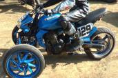 """Kawasaki Z1000 """"biến hình khủng long"""
