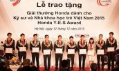 Honda Y-E-S năm thứ 11 chính thức khởi động tại VN