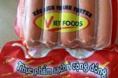 Xúc xích Vietfoods: 100% mẫu xét nghiệm chứa chất cấm gây ung thư
