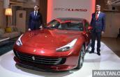 Ferrari GTC4Lusso sắp về Việt Nam: Mạnh mẽ và hiện đại