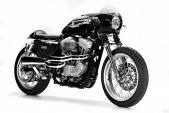 "Harley Sporster 883 ""biến hình"" cafe racer siêu kinh điển"