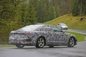 Xế sang Audi A8 2017 bất ngờ lộ ảnh thực tế