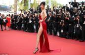 Xuất hiện mẫu nữ mặc bạo nhất thảm đỏ Cannes 2016