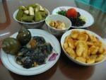Cuối tuần ngon cơm với món ốc nấu chuối đậu thơm nức