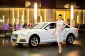 """Á hậu Dương Tú Anh """"sang chảnh"""" bên Audi A4 mới"""