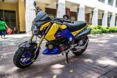 """""""Xế nổ"""" Honda MSX 125 độ siêu chất tại Sài Gòn"""
