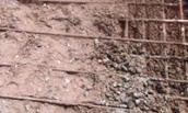 Trụ cột điện bằng bê tông trộn đất và chuyện phần trăm trong xây dựng