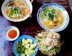 Quán bún cá sứa đậm đà hương vị biển ở Nha Trang
