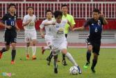 Bầu Đức dự khán trận U16 HAGL thua U16 Nhật Bản 1-4