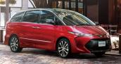 Toyota Estima nâng cấp 2016 chính thức lộ diện
