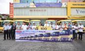 FUSO bàn giao đợt xe buýt đầu tiên cho Công ty CP Hoàng Hà