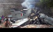 Hiện trường thảm khốc MiG-27 Ấn Độ tông sập nhà dân