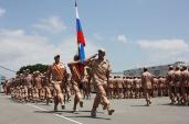 Mục kích Quân đội Nga duyệt binh hoành tráng ở Syria