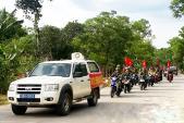 Gặp mặt Đoàn đại biểu học sinh Trường Phổ thông DTNT Đam Rông