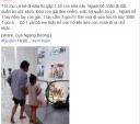 Hai cha con đi chân đất ở siêu thị hút gần 50 ngàn like dân mạng