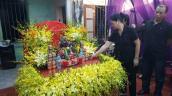 Lễ viếng đẫm nước mắt ở quê nhà phi công Trần Quang Khải