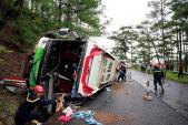 Vụ tai nạn thảm khốc ở đèo Prenn: Xe khách gây ra tai nạn không có phép hoạt động