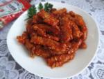 Thịt thăn chiên sốt chua ngọt ngon ơi là ngon