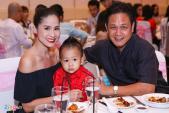 Dàn sao Việt mừng thôi nôi con gái Trịnh Kim Chi