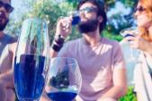 Ấn tượng rượu vang xanh đầu tiên trên thế giới