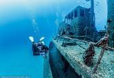 Vẻ đẹp ma mị của xác tàu đắm dưới đáy đại dương