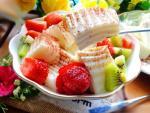 Sữa chua dẻo trái cây tuyệt ngon cho ngày nắng nóng