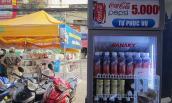 Tủ nước ngọt tự động giá 5.000 có mặt tại Sài Gòn