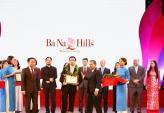 Bà Nà Hills nhận giải Khu du lịch hàng đầu Việt Nam