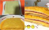 Bữa sáng với bánh mỳ kẹp thịt nguội phô mai ngon nức lòng