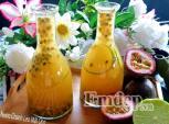 Pha ngay nước chanh leo mật ong để giảm cân nhanh chóng