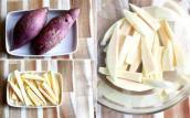 Tự tay chế biến khoai lang, khoai tây lắc phô mai đơn giản tại nhà