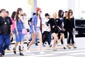 Kiều nữ SNSD đa phong cách thời trang ở sân bay