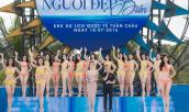 Dàn thí sinh Hoa hậu Việt Nam khoe dáng với bikini