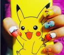 Phát cuồng với trào lưu vẽ móng Pokemon Go