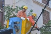 EVN Hà Nội xin lỗi khách hàng vì sự cố mất điện do Cơn bão số 1