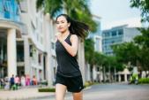 Ái Phương tham gia sự kiện chạy bộ giải phóng calo