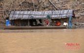 Nghề săn cá đêm trên thượng nguồn sông Nậm Nơn