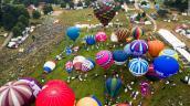 Vẻ đẹp của ngày hội khinh khí cầu rợp trời nước Anh