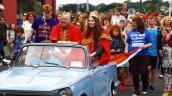 Độc đáo lễ hội tóc đỏ thu hút hàng ngàn người tham gia