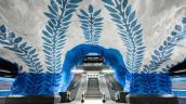 Ngạc nhiên trước thế giới sặc sỡ của những ga tàu điện ngầm